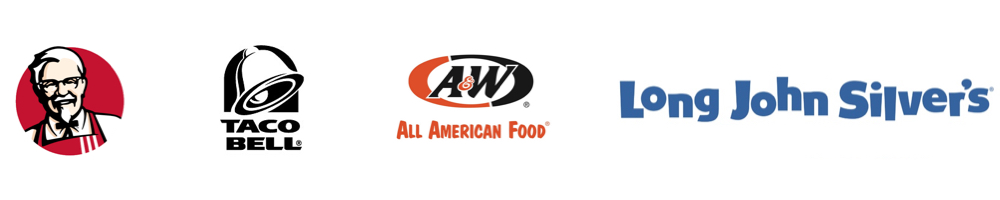 KFC, Taco Bell, A&W, Long John Silver's - Washington